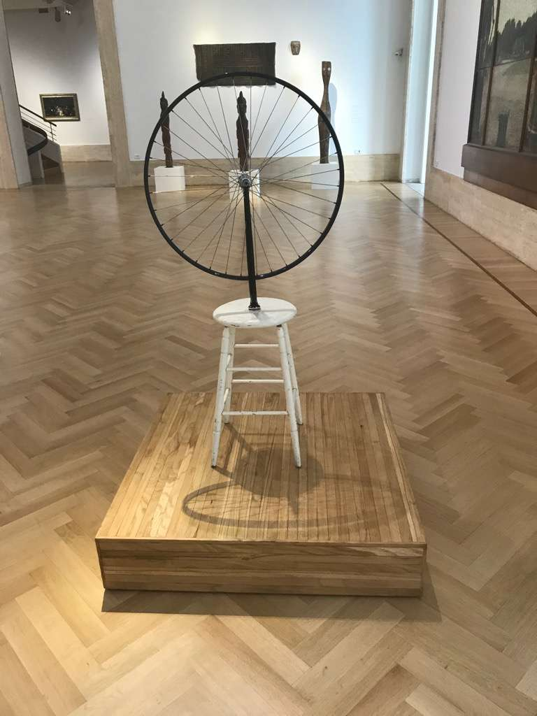 Marcel Duchamp's Bicycle Wheel