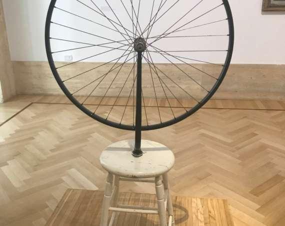 Marcel Duchamp's Bicycle Wheel