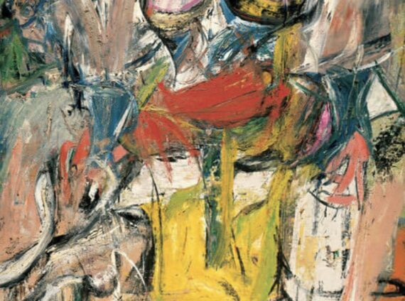 Womand and Bicyle Willem de Kooning